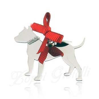 Ciondolo Cane Pit Bull Unoaerre Silver jewellery Happy Pets 1R-AG1003