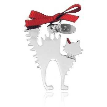 Ciondolo Gatto Happy Pets AG858 Unoaerre Silver jewellery Happy Pets 1R-AG858