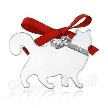 Ciondolo Gatto Happy Pets AG856  Happy Pets 1R-AG856