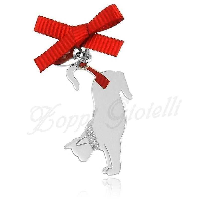 Ciondolo Gatto Happy Pets AG847 Unoaerre Silver jewellery Happy Pets 1R-AG847