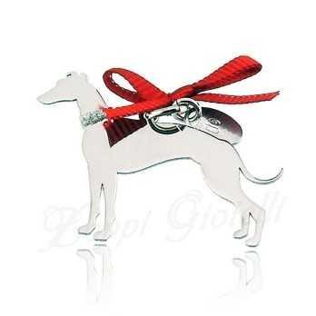 Ciondolo Cane Levriero Unoaerre Silver jewellery Happy Pets 1R-AG1005