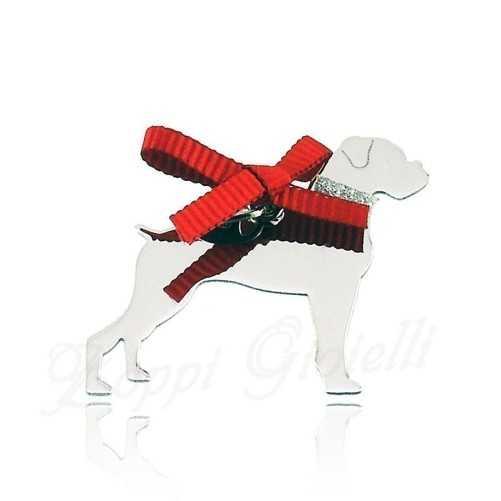 Ciondolo Cane Boxer Unoaerre Silver jewellery Happy Pets 1R-AG831