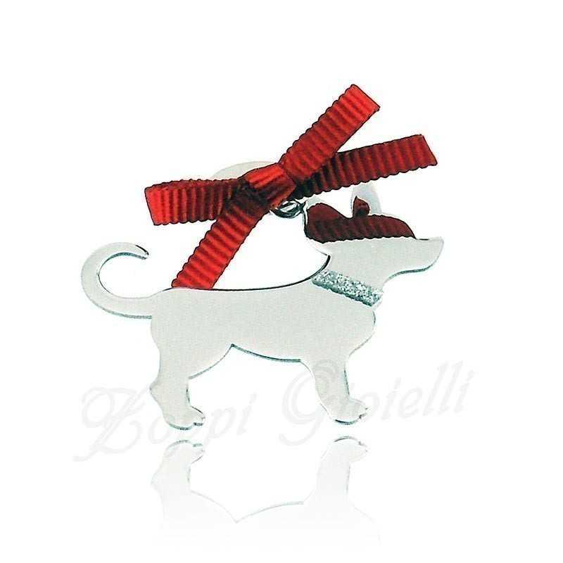 Ciondolo Cane Chiuaua Unoaerre Silver jewellery Happy Pets 1R-AG832