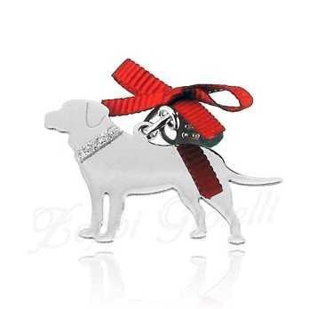 Ciondolo Cane LabradorUnoaerre Silver jewellery Happy Pets 27,00€ 1R-AG833