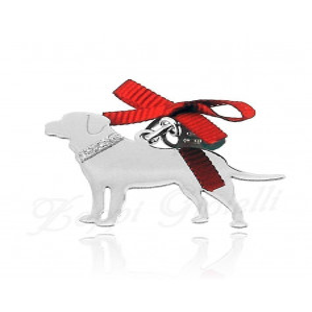 Ciondolo Cane Labrador Unoaerre Silver jewellery Happy Pets 1R-AG833