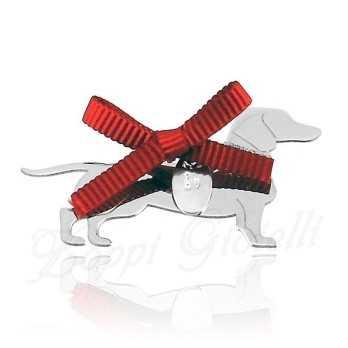 Ciondolo Cane Bassotto Unoaerre Silver jewellery Happy Pets 1R-AG834