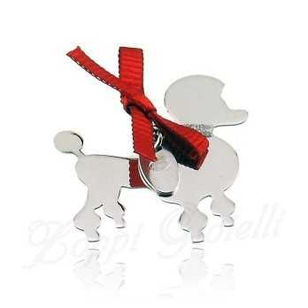 Ciondolo Cane Barboncino Unoaerre Silver jewellery Happy Pets 1R-AG835