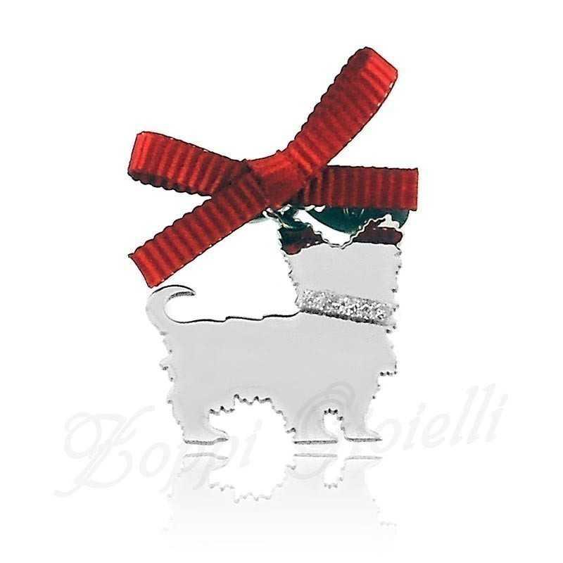 Ciondolo Cane Yorkshire Unoaerre Silver jewellery Happy Pets 1R-AG839