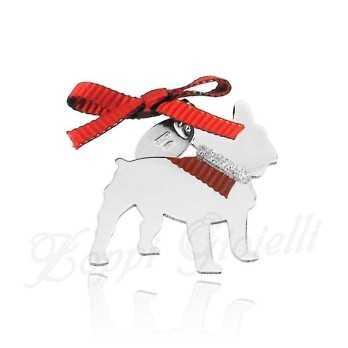 Ciondolo Cane Bulldog Unoaerre Silver jewellery Happy Pets 1R-AG842