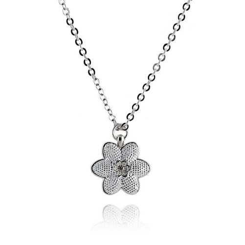 Collana con Fiore in acciaio Byblos jewels Promozioni BB-9822