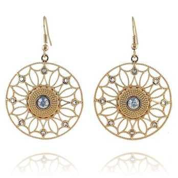 Orecchini in bronzo dorato Byblos jewels Promozioni BB-9365O