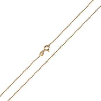 Catenina a pallini 60 cm in argento rosè Alexia Gioielli Catene e catenine CT270AGR60P