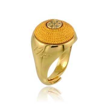 Anello puntoluce color arancio Osa jewels Promozioni OSA9808-03
