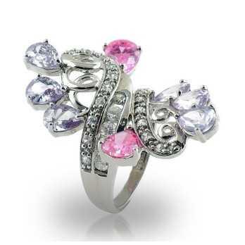 Anello in argento e pietre a goccia Puca Jewels Anelli Donna MP-AG20/AN9