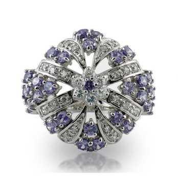 Anello artigianale in argento e pietre Puca Jewels Anelli Donna MP-AG20/AN8