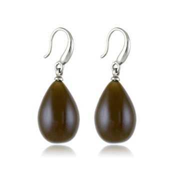 Orecchini a goccia col. marrone Lizas jewellery Promozioni LZ-33875