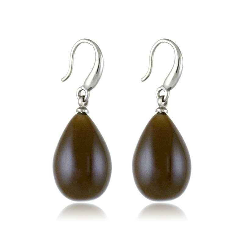 Orecchini a goccia col. marroneLizas jewellery Promozioni 5,00€ LZ-33875