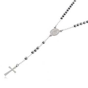 Collana a Rosario in acciaioAlexia Gioielli Collane religiose 10,00€ CL800ACR