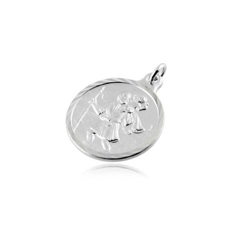 Medaglia San Cristoforo in argento 20mmAlexia Gioielli Croci e Medaglie 15,00€ RB-MD60AGSC