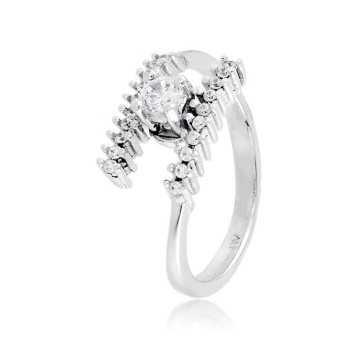 Anello solitario in argento e zirconi Ct. 0,30Zoppi Gioielli - Multibrand Anelli Donna 60,00€ CM025AG