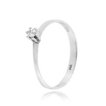 Anello solitario in argento e zircone Ct. 0,05Zoppi Gioielli - Multibrand Anelli Donna 25,00€ CM005AG