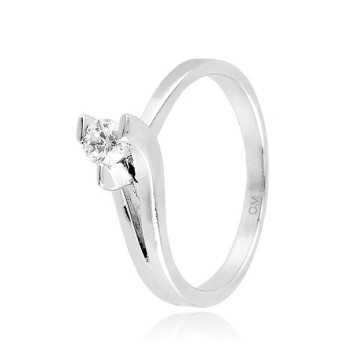 Anello solitario in argento e zircone Ct. 0,18Zoppi Gioielli - Multibrand Anelli Donna 58,00€ CM026AG