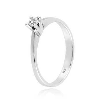 Anello solitario in argento e zircone Ct. 0,13Zoppi Gioielli - Multibrand Anelli Donna 39,00€ CM018AG