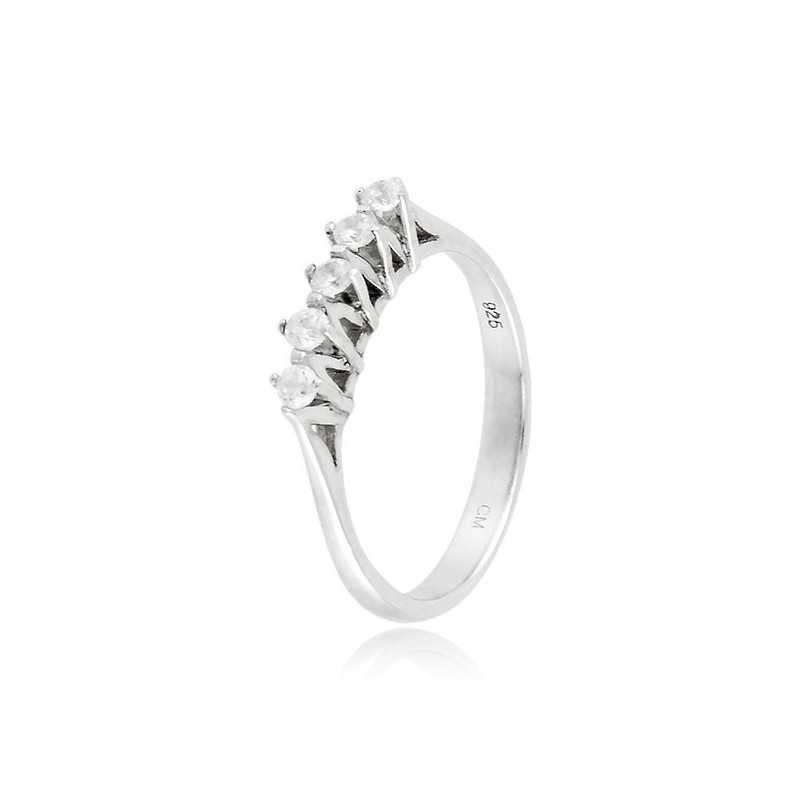 Anello riviera con 5 diamanti Ct. 0,20Zoppi Gioielli - Multibrand Anelli Donna 38,00€ CM047AG
