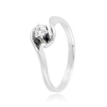 Anello solitario in argento con pietra Ct. 0,10Zoppi Gioielli - Multibrand Anelli Donna 42,00€ CM013AG