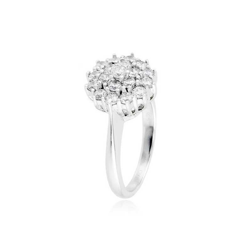 Anello in argento e zirconi Ct. 0.96Zoppi Gioielli - Multibrand Anelli Donna 70,00€ CM067AG