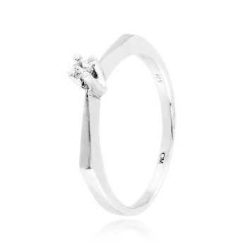Anello solitario in argento e zircone Ct. 0,06Zoppi Gioielli - Multibrand Anelli Donna 38,00€ CM010AG