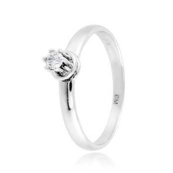 Anello solitario in argento con zircone Ct. 0,08Zoppi Gioielli - Multibrand Anelli Donna 38,00€ CM011AG