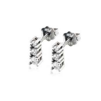 Orecchini in argento e zirconi Ct. 0,26 Zoppi Gioielli bijoux Orecchini Donna CM086AG