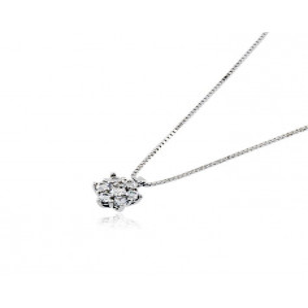 Collana puntoluce in argento e zirconi Ct. 0,25Zoppi Gioielli - Multibrand Collane Donna 44,00€ CM091AG