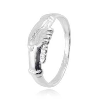 Mani di santa Rita anello in argento Alexia Gioielli Anelli religiosi BR-AN7AGS