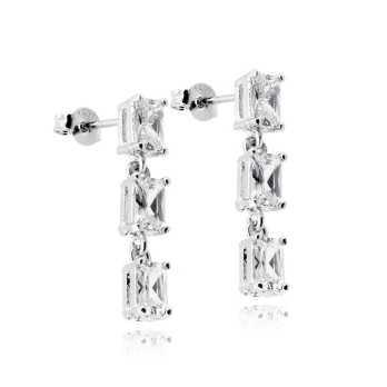 Orecchini pendenti in argento e pietre Zoppi Gioielli bijoux Orecchini Donna ITJ-OR8AG