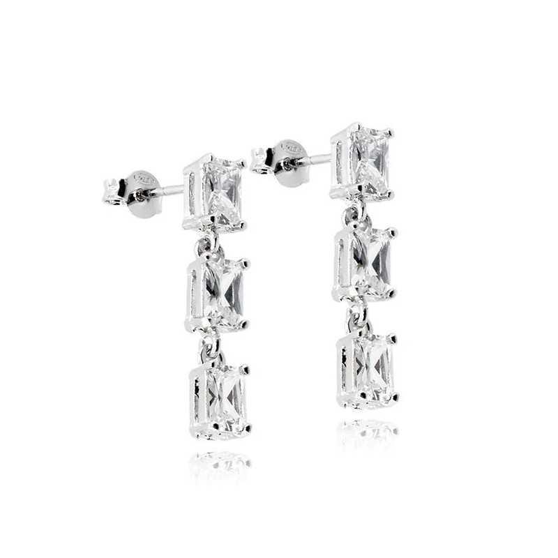 Orecchini pendenti in argento e pietreZoppi Gioielli - Multibrand Orecchini Donna 35,00€ ITJ-OR8AG
