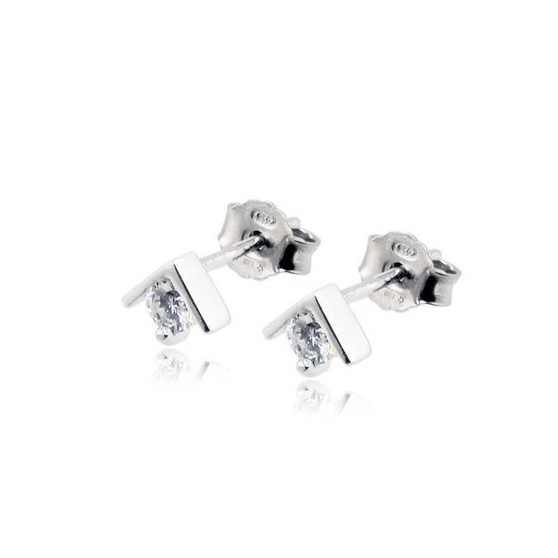 Orecchini punto luce argento e zirconeZoppi Gioielli - Multibrand Orecchini Donna 16,00€ ITJ-OR9AG