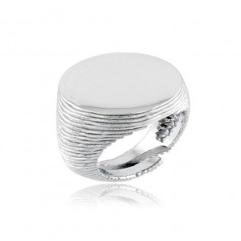 Anello da mignolo tondo argento 925 Alexia Gioielli Anelli Uomo RB-ANM33AG
