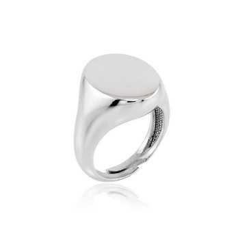 Anello ovale in argento Alexia Gioielli Anelli Uomo RB-AG320ANO