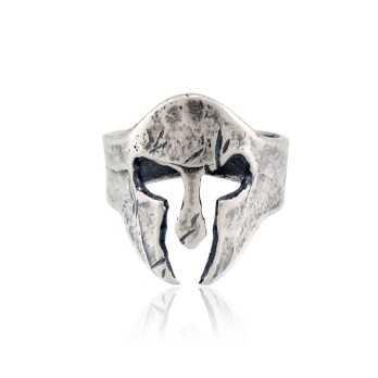 Anello gladiatore in argento