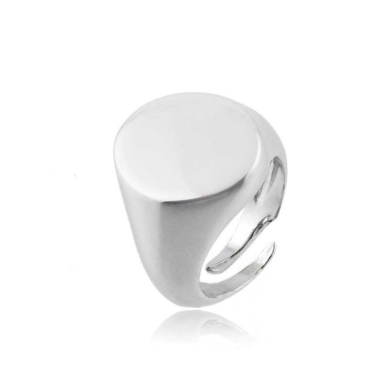 Anello da mignolo ovale in argento Alexia Gioielli Home RB-AN18AGO