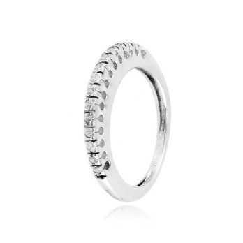 Anello riviera in argento con zirconi Ct. 0,23 Zoppi Gioielli bijoux Anelli Donna CM038AG