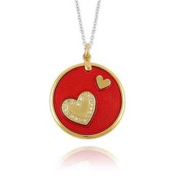 Collana feeling rosso Osa jewels Promozioni F9801-01