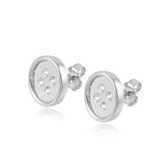 Orecchini a bottone in argento Zoppi Gioielli bijoux Orecchini Donna OR7AGB