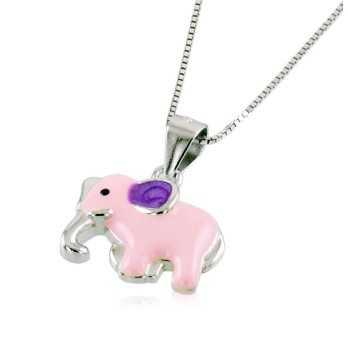 Collana bimba in argento con elefante Le Meraviglie Collane Kids COAGBB33
