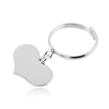 Anello argento dorato con cuore pendente Alexia Gioielli Anelli Donna RBAN14AG